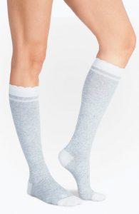 Compression-Socks_HeatherGrey-White_side_2400X3680